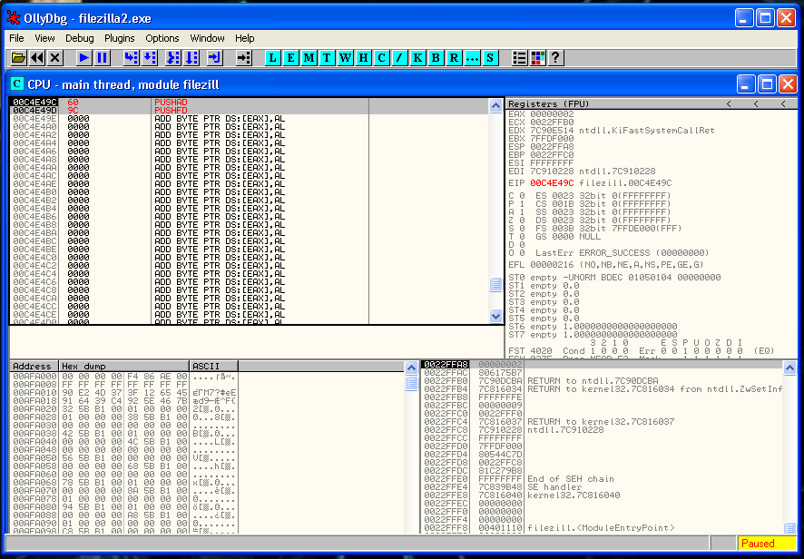 Backdoor inside a Windows Binary | Happy Hacking!
